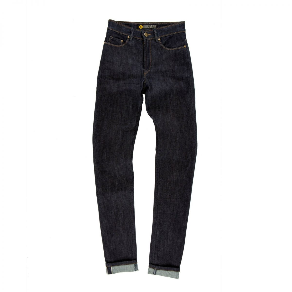 Resurgence Cafe Racer Skinny Ladies Jeans - Selvedge Raw