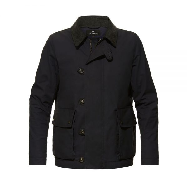 Ashley Watson Eversholt Jacket Navy Front