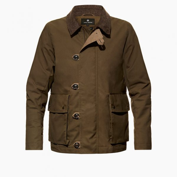 Ashley Watson Eversholt Jacket Olive Stitch