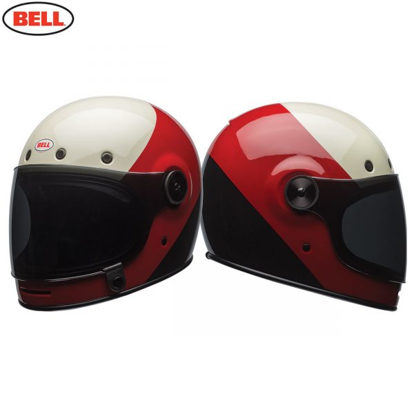 Bell Cruiser Bullitt Adult Helmet (Triple Threat Red Black)