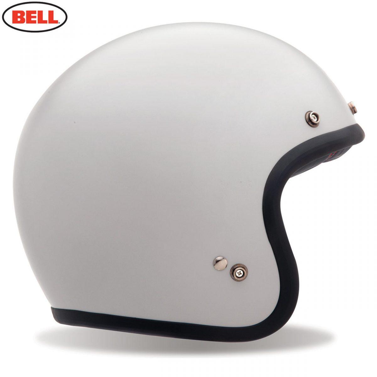 Bell Cruiser Custom 500 Adult Helmet Vintage White