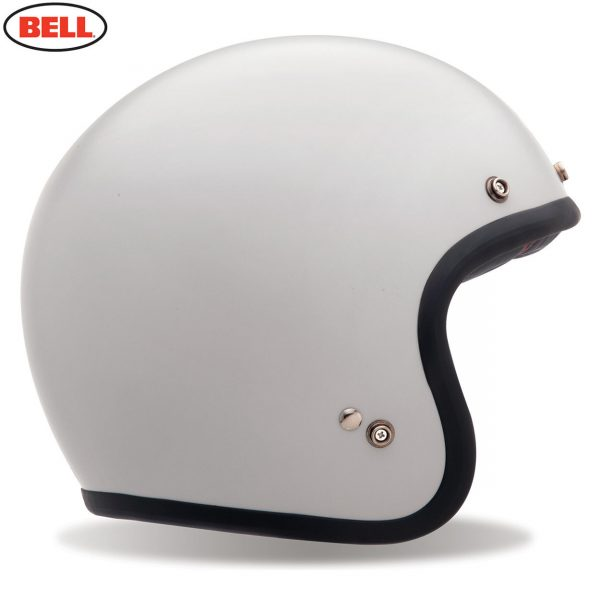 Bell Cruiser Custom 500 Adult Helmet Vintage White
