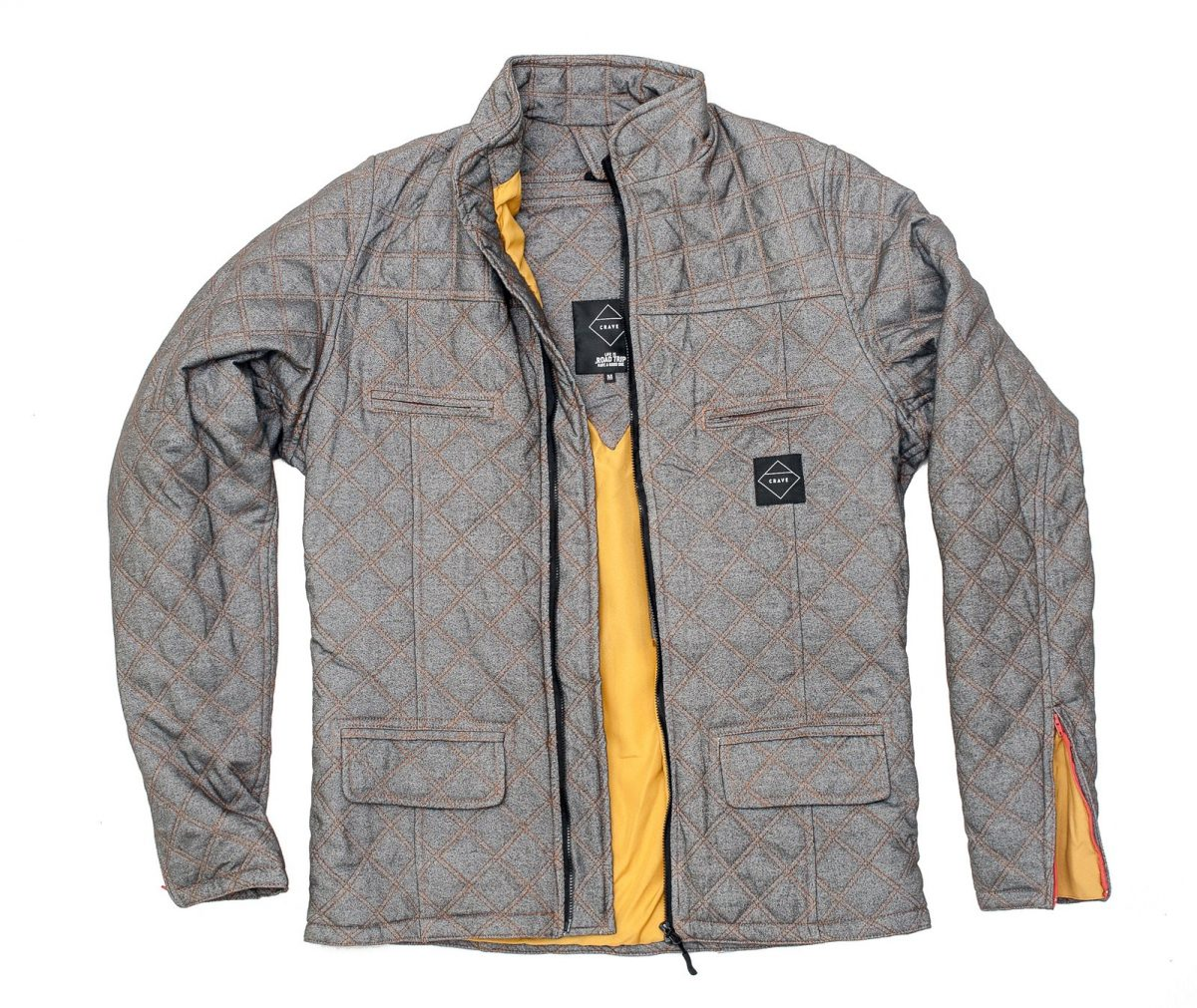 Crave Duke Quilted Kevlar Riding Jacket