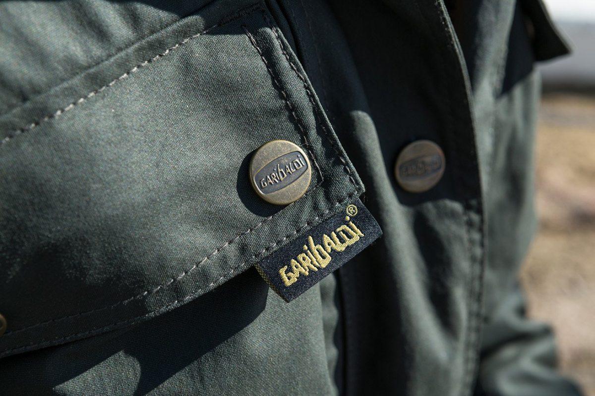 Garibaldi Heritage 1972 Wax Cotton look Mens Jacket CE EN17092