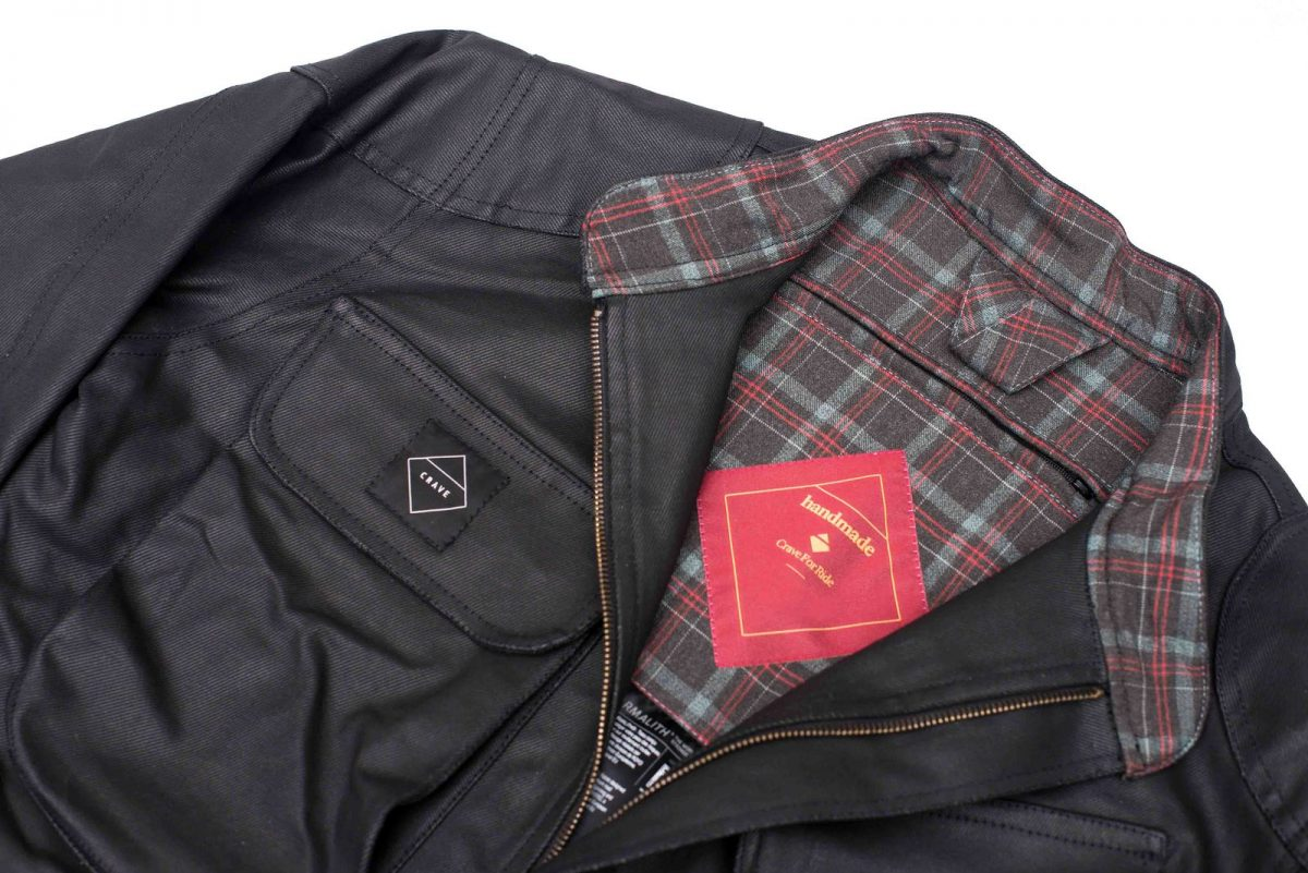 Crave Waxed Trophy Armalith Riding Jacket