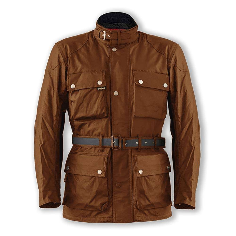 Garibaldi Heritage 1972 Olive Wax Cotton Mens Jacket
