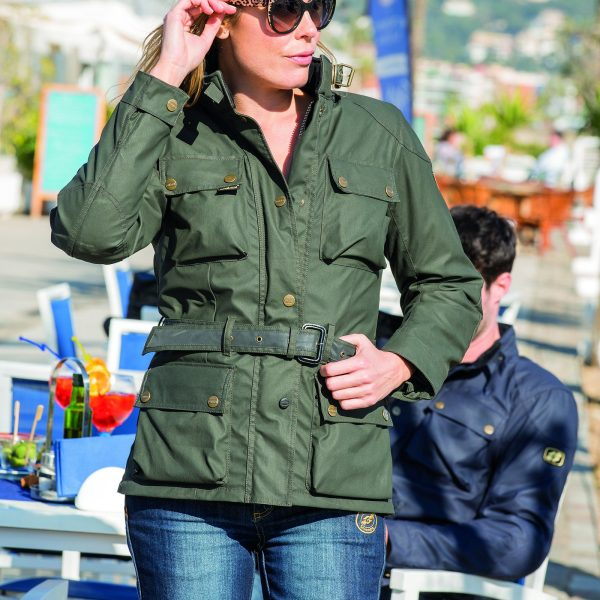 Garibaldi Heritage 1972 Wax Cotton Ladies Jacket CE EN17092