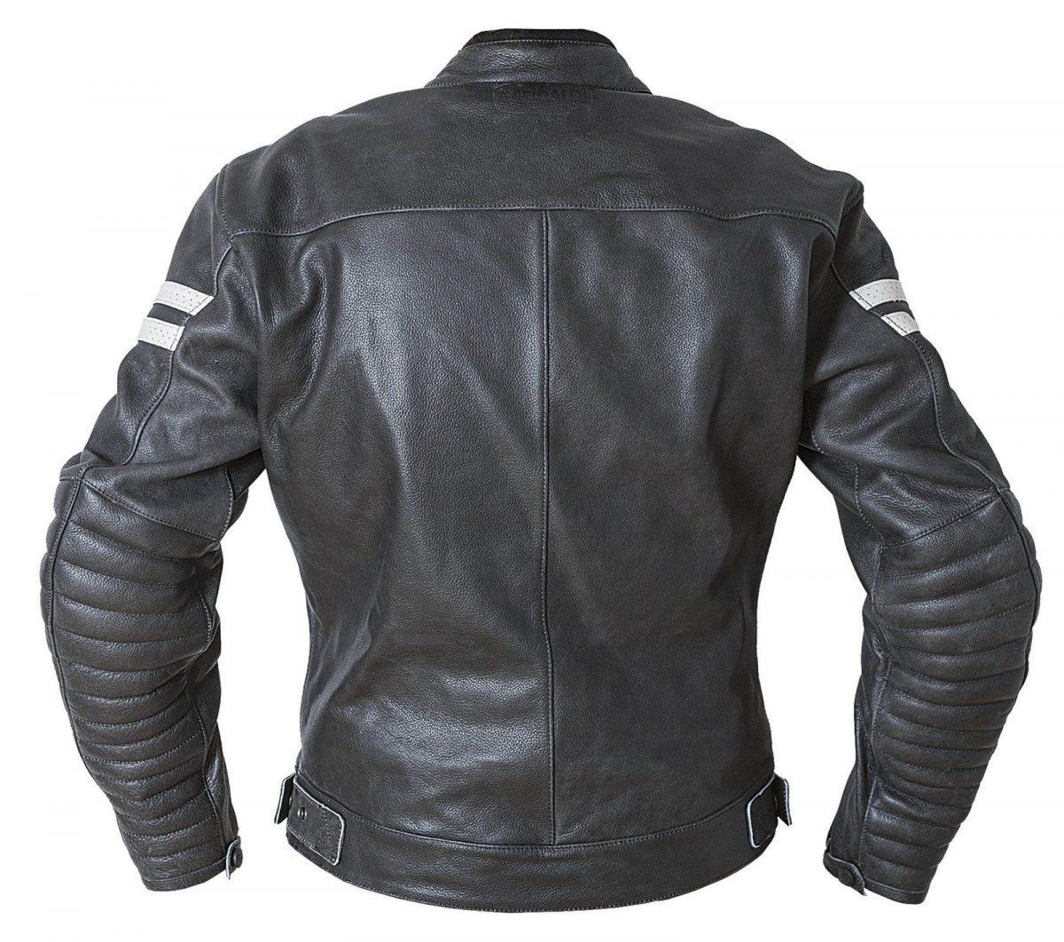 Garibaldi Moka Racer Vintage Black Leather Ladies Jacket