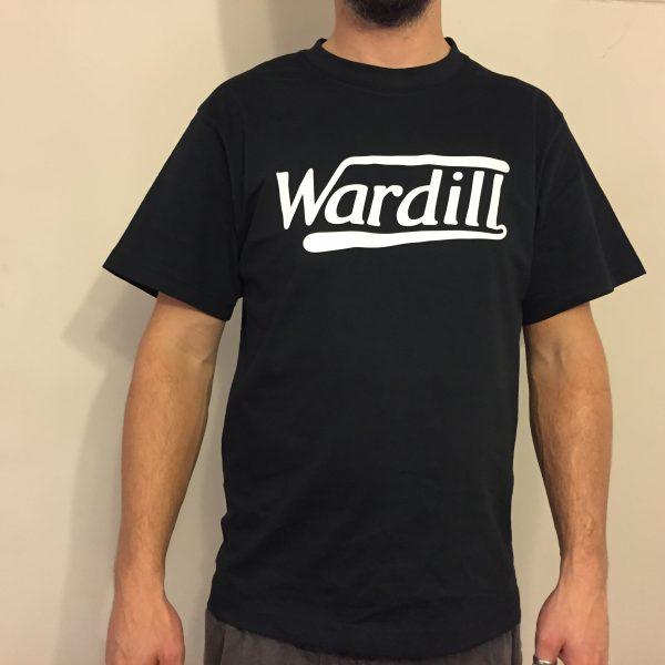 Wardill Motorcycle T-Shirt Vintage Black White Retro